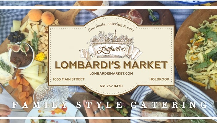 Family Style Catering Lombardi's Market in Holbrook