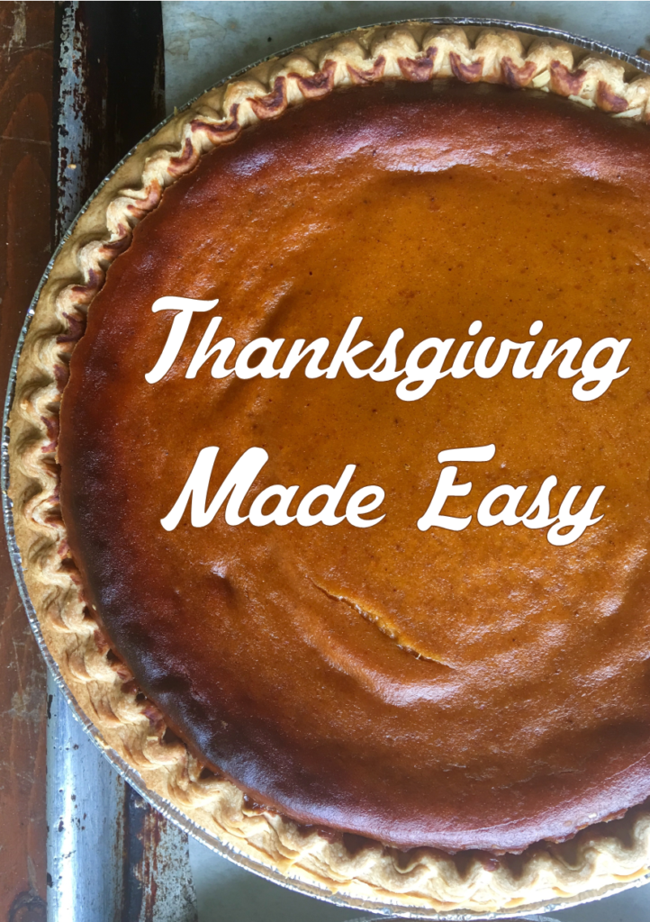 Thanksgiving Made Easy