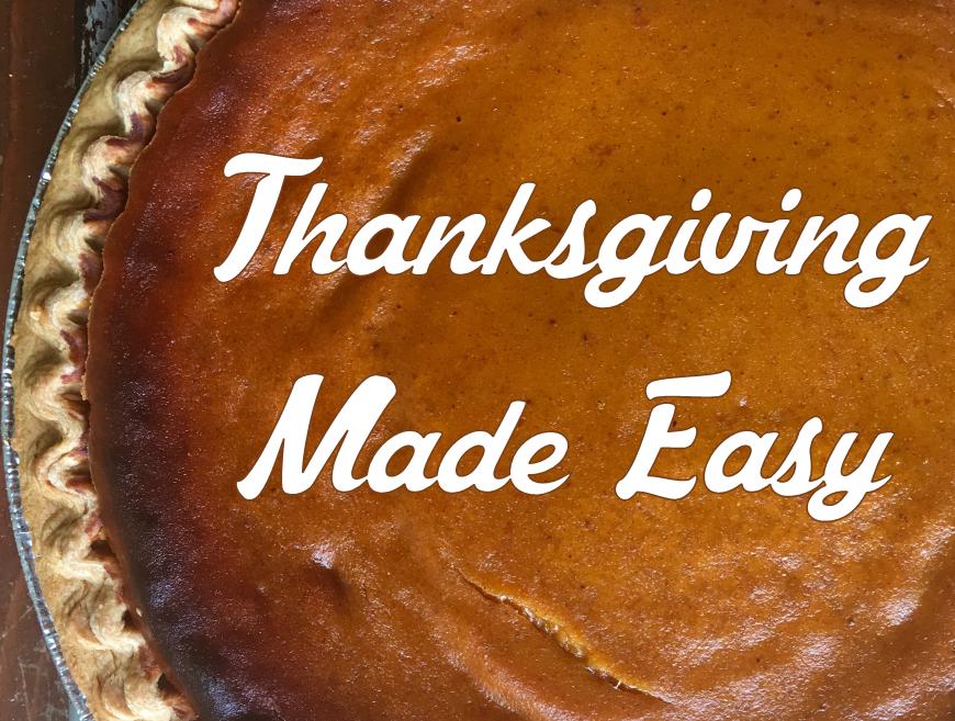 Thanksgiving Made Easy_Website